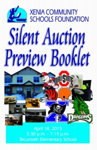 Silent Auction Preview Booklet - Page 1